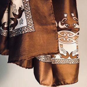 Beautiful Vintage Pierre Cardin Scarf Celtic Style